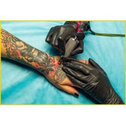 NITRYLEX BLACK Fekete púdermentes nitril kesztyű