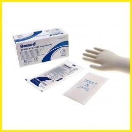 ROMED steril, púderezett vizsgálókesztyű