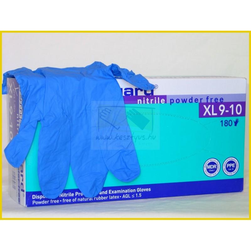 Semperguard Nitril Xtra Lite 180db XL púdermentes kesztyű