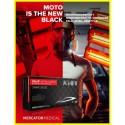 ideall NITRYLEX MOTO szereléshez,  púdermentes, nitril, fekete színű védőkesztyű (L, XL) ÚJ!!!