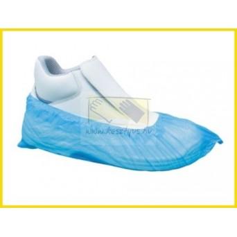 Polietilén ( Nylon ) cipővédő, kék 100 db/1
