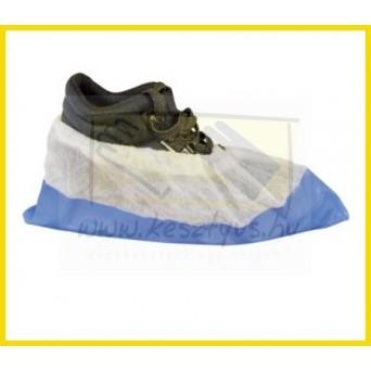 Erősített, Polietilén (Nylon), Polipropilén PE/PP cipővédő, kék cipővédő 50 db/1